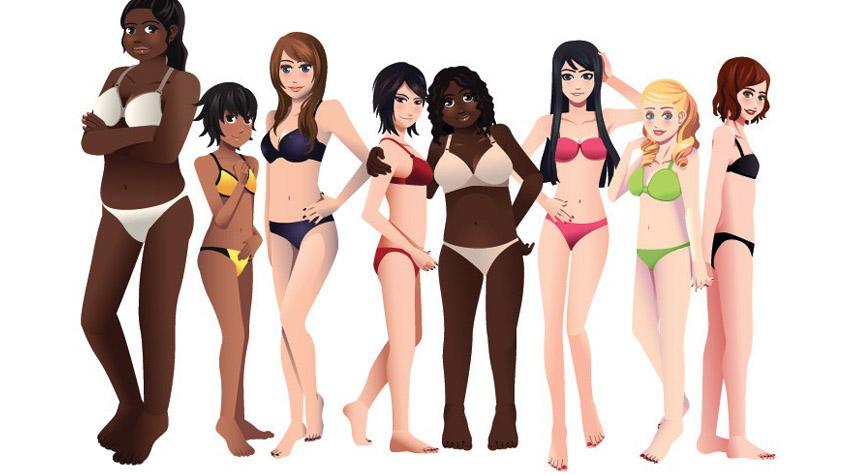 57a159e9e3 Tudod, milyen testalkattípusba tartozol, illetve hogy mennyi a testzsír  százalékod? | Peak girl
