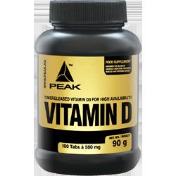 Peak D-vitamin