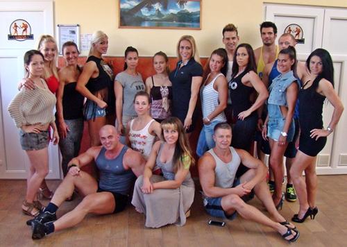 A Palatinus Team őszi versenyzői csapata