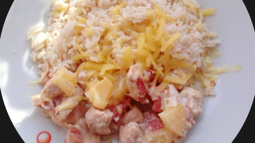 hawai-csirke-recept