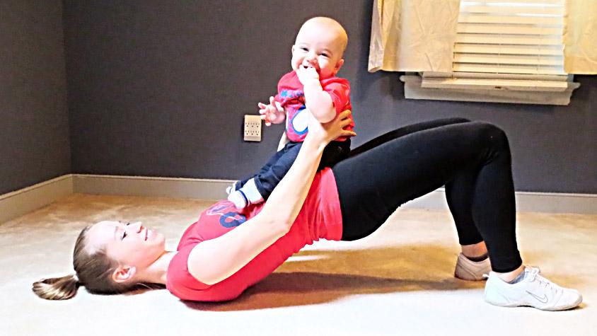 edzes-kisgyerekkel