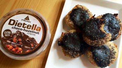 Foltos muffin Dietellával