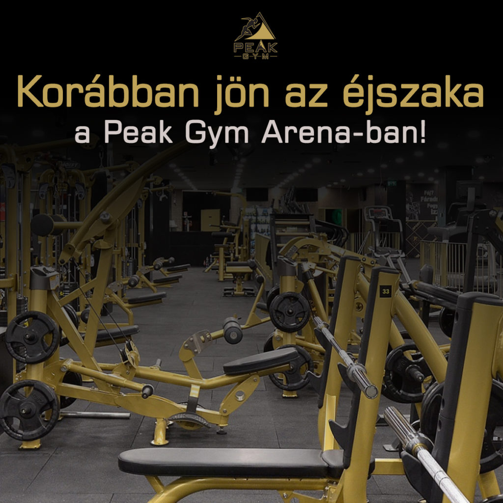peak-gym-arena-ejszaka