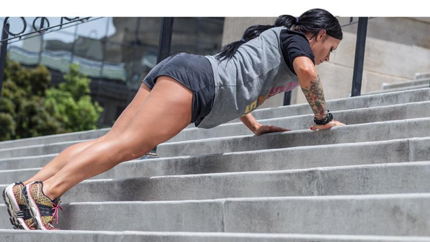 Van 15 perced? Lépcsős edzésterv a maximális zsírégetéshez! | Peak girl
