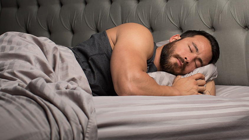 A pihentető alvás