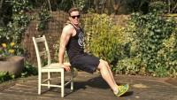 Otthoni edzés, csak egy szék kell hozzá!