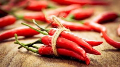 Az erős chili paprika hatása a hosszú életre!