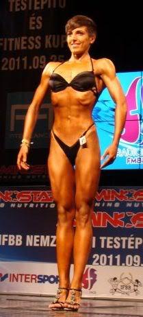 Németh Vivien fitnesz modell