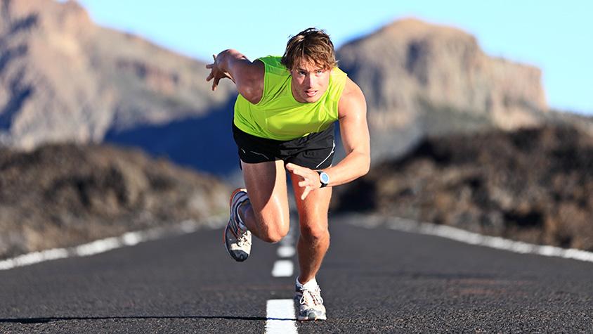sprintelés gyorsabban éget zsírt
