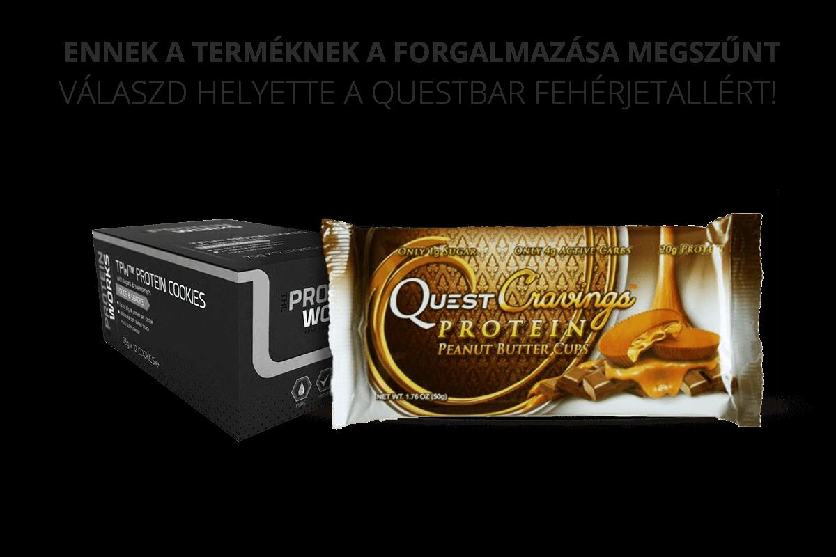QuestBar fehérjetallér